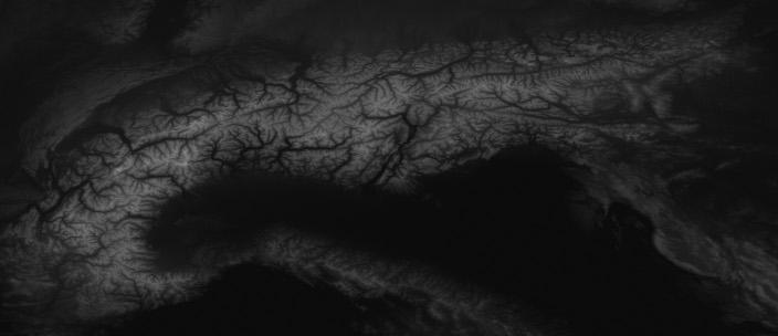 Hoddminir Mod Development From Heightmap To Worldspace In Skyrim - World heightmap